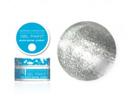 Гель-краска т16 серебро металлик