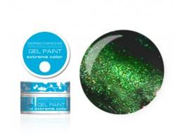 Гель-краска т20 зеленая перламутр