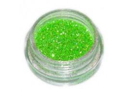 Блёстки Б26 светло-зеленые мелкие