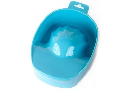 Ванночка для маникюра голубая