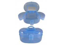 Кейс для инструментов пластик голубой