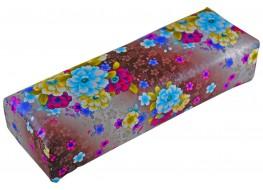 Подлокотник для рук кожаный цветочная поляна