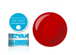 Гель-краска т4 красная алая