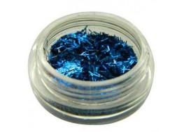Блестки- соломка №11 ярко-синие