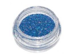 Блёстки Б47 синие голографические мелкие