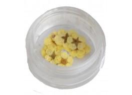 Сухоцветы в баночке т2 желтые крупные