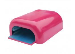 Лампа УФ 36 Вт розовая глянец