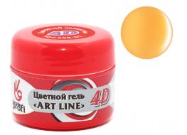 Гель 4D №02 абрикосовый джем