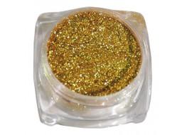 Пигмент для дизайна Северное сияние №8 золотой