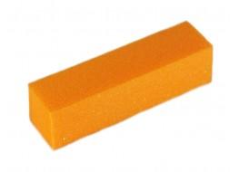 Баф для полировки ногтей оранжевый 120 грит