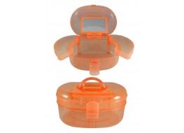 Кейс для инструментов пластик оранжевый