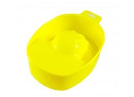 Ванночка для маникюра желтая