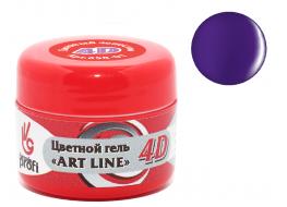 Гель 4D №14 пурпурный ирис
