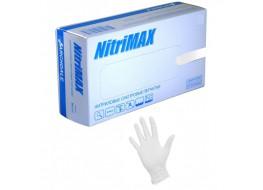 Перчатки TurboMAX нитриловые S белые