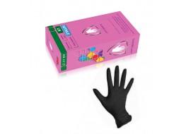 Перчатки Safe&Care нитриловые М черные