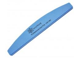 Полировщик для ногтей QcQIHONg синий полукруг 100*180