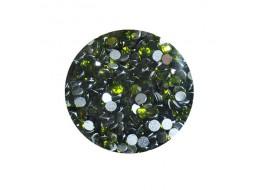 Стразы стекло SS6 Оливковый