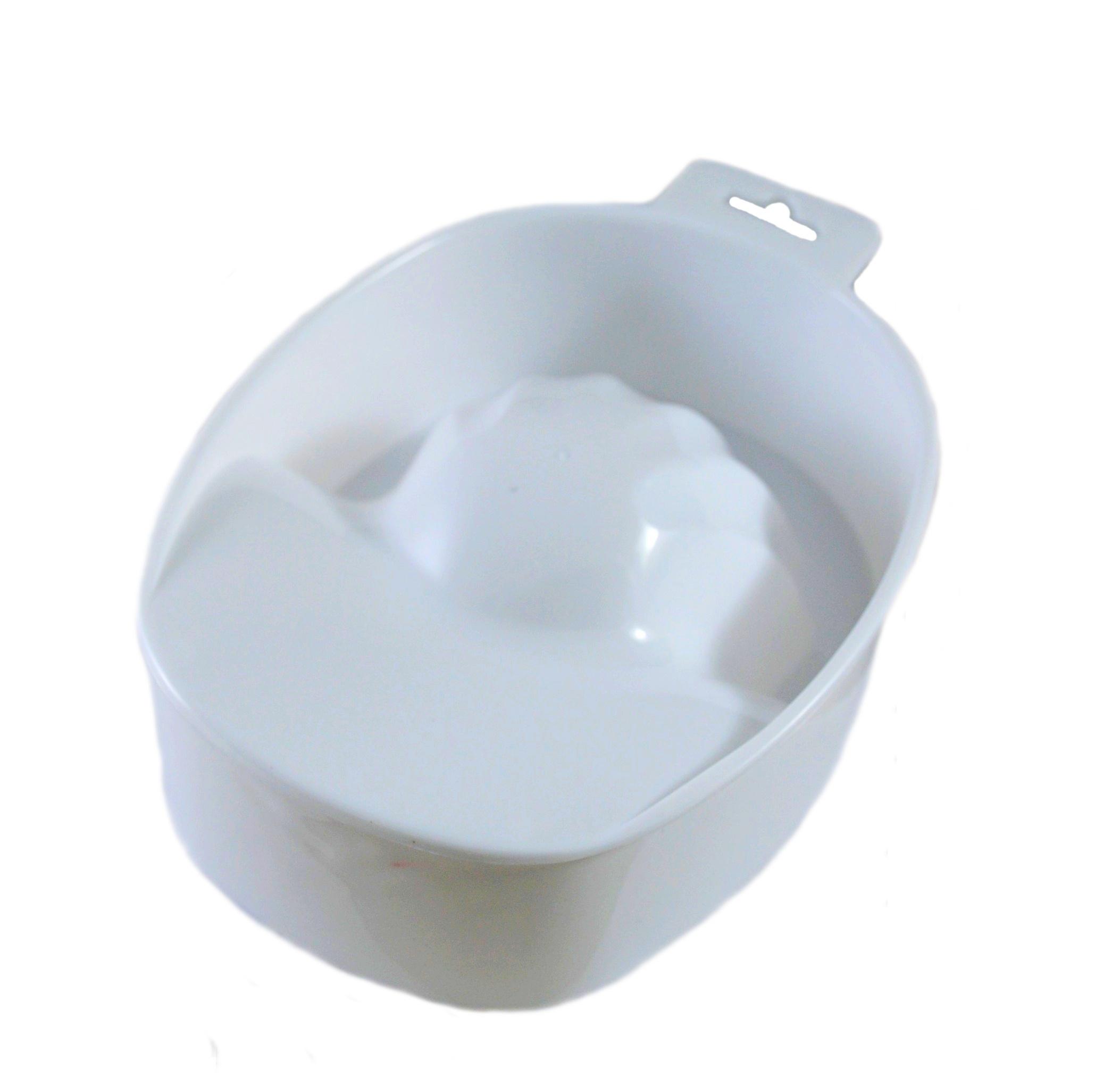 Ванночка для маникюра белая