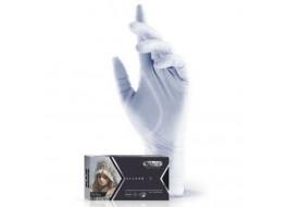 Перчатки  нитриловые XS СЕРЕБРО Adele