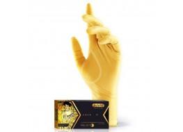 Перчатки нитриловые M золото Adele