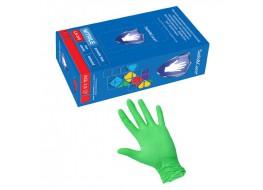Перчатки нитриловые S зеленые Nitrille