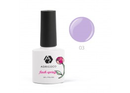Гель-лак ADRI COCO Flash Spring т 03 цветы сирени