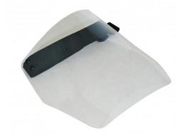 Экран защитный для лица многоразовый с поролоном (для работы в очках) 300*210 мм