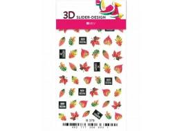 Наклейки на ногти Слайдер Дизайн 3D В379