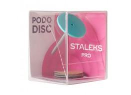 Диск педикюрный пластиковый M + сменные файлы 5шт* 180 грит(20 мм)