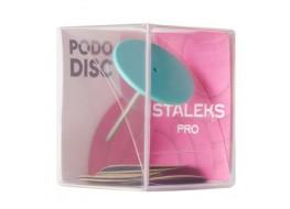 Диск педикюрный пластиковый L+ сменные файлы 5шт* 180 грит (25 мм)