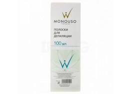 Полоски для депиляции MONOUSO 7*20 см БЕЛЫЕ