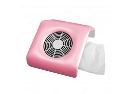 Вентилятор (пылесос) большой светло-розовый