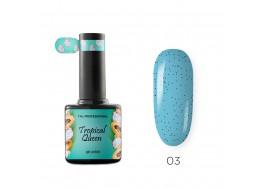 Гель-лак Tropical Queen т 03 голубая малина