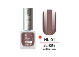 Лак для ногтей Like №01