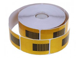 Формы для наращивания узкие золотые подкова 500 шт/рулон