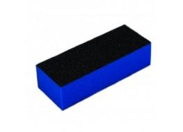 Баф для полировки ногтей чёрно-синий 60 грит