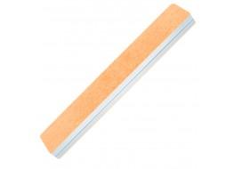 Пилка-полировка 2-х сторонняя бело-оранжевая широкая