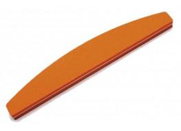 Полировщик для ногтей JN оранжевый полукруг 120*180