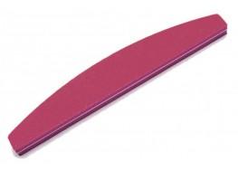 Полировщик для ногтей JN розовый полукруг 120*180