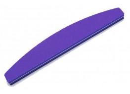 Полировщик для ногтей JN фиолетовый полукруг 120*180