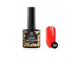 Гель-лак Love autumn т 24 ярко-красный