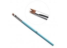 TNL Кисть для дизайна Ласточкин хвост А 905203 (голубая)