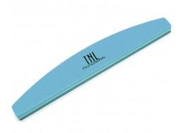 Полировщик для ногтей голубой полукруг 100*180