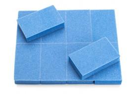 Баф для полировки ногтей  MEDIUM голубой