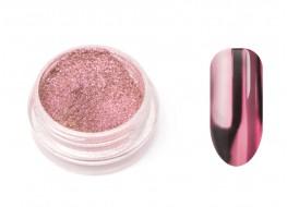 Втирка металлическая ярко-розовая