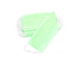 Маска трехслойная на резинках Зеленая ARCHDALE