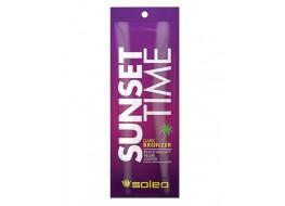Крем для загара Sunset time тёмный крем-бронзатор