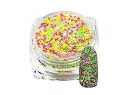 Блёстки неоновые конфетти №3