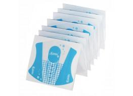 Формы пластиковые прозрачные для наращивания ногтей