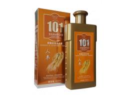 Шампунь 101 для роста и против выпадения волос с женьшенем